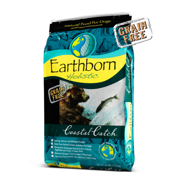 Earthborn Earthborn Holistic Grain-Free Dry Dog Food, Coastal Catch