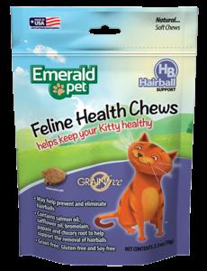 Emerald Pet Smart N Tasty Health Treats, Hairball Formula, 2.5 oz bag