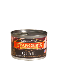 Quail for Dog and Cat, 6 oz can
