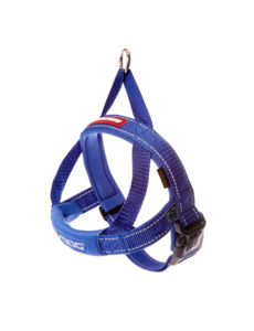 Ezy Dog Quick Fit Harness Blue, XX Small
