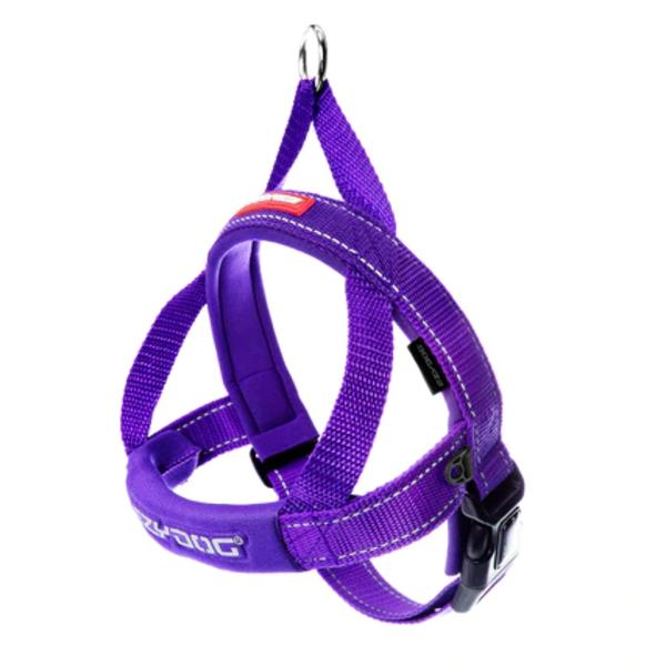 EzyDog Quick Fit Harness Purple, Large