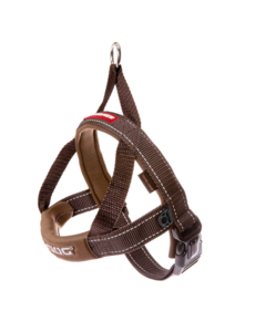 Ezy Dog Quick Fit Harness Chocolate, Medium