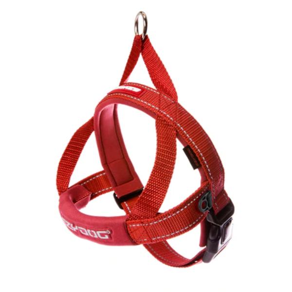 EzyDog Quick Fit Harness Red, X Small