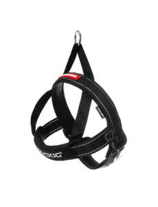 Ezy Dog Quick Fit Harness Black, Small