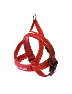 Ezy Dog Quick Fit Harness Red, Medium