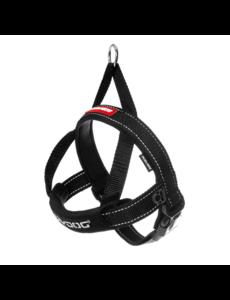 EzyDog Quick Fit Harness Black, Medium
