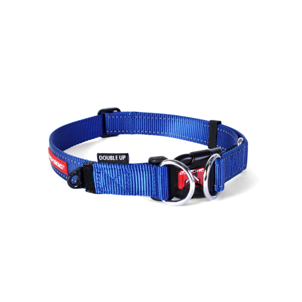 EzyDog DoubleUp Collar, Blue