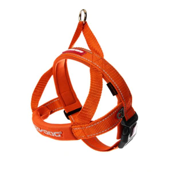 Ezy Dog Quick Fit Harness Orange, Medium