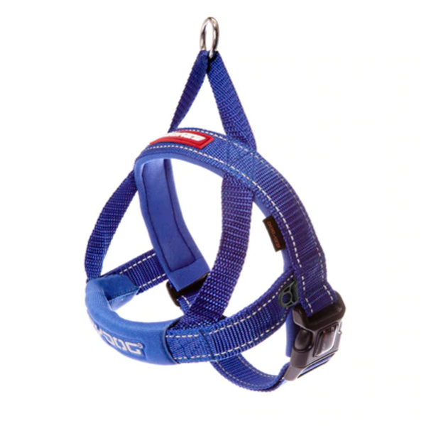 EzyDog Quick Fit Harness Blue, X Small