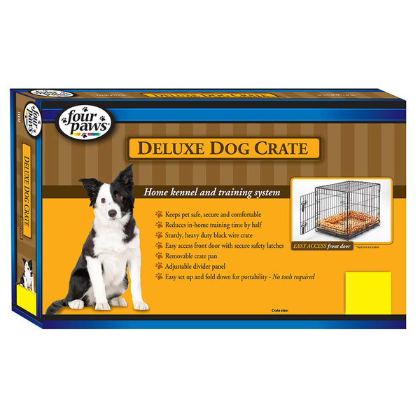 Four Paws K-9 Keeper Deluxe Single Door Crate