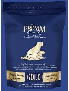 Fromm Gold Grain Inclusive Dry Dog Food, Reduced Activity Senior