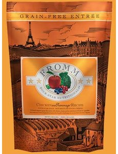 Fromm Four Star Grain Free Dry Dog Food, Chicken au Frommage