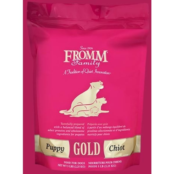 Fromm Gold Grain Inclusive Dry Dog Food, Puppy