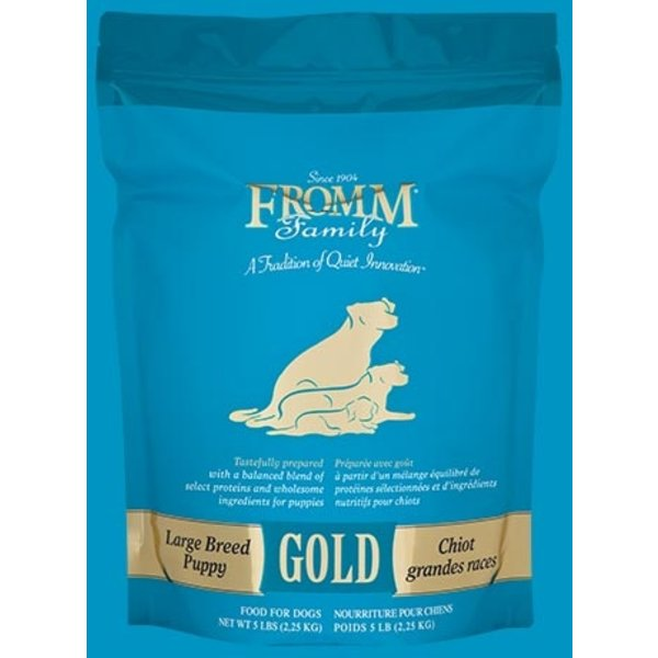 Fromm Gold Grain Inclusive Dry Dog Food, Large Breed Puppy, 33 lb bag