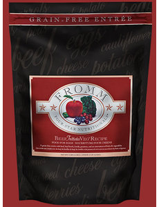 Fromm Four Star Grain Free Dry Dog Food, Beef Frittata Veg
