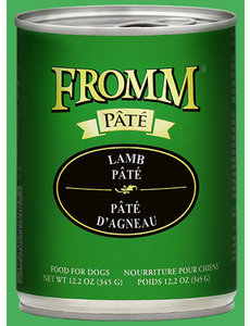 Fromm Lamb Pate Canned Dog Food, 12.2 oz can