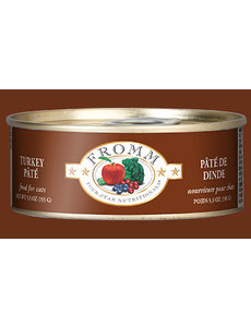 Fromm Turkey Pate Cat Can Food, 5.5 oz can