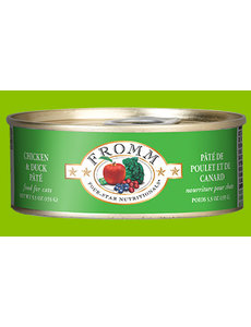 Fromm Chicken & Duck Pate Cat Can Food, 5.5 oz can