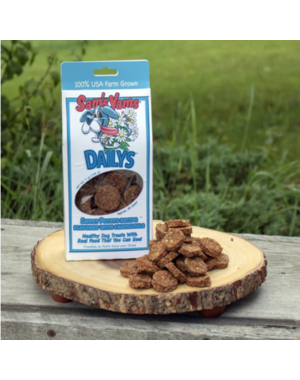 "Front Porch Pets Sam's Yams ""Daily's"" Calmly Chamomile Dog Treat, 7 oz box"