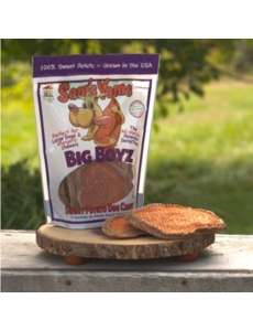 Front Porch Pets Sam's Yams Big Boyz Sweet Potato Dog Treat, 15 oz bag