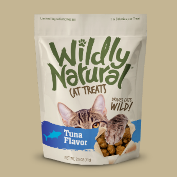 Fruitables Wildly Natural Tuna Cat Treats, 2.5 oz bag