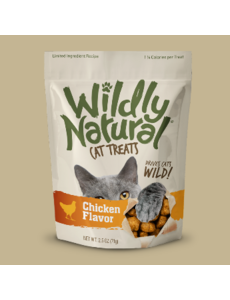 Fruitables Wildly Natural Chicken Cat Treats, 2.5 oz bag