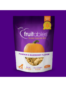 Fruitables Crunchy Pumpkin & Blueberry Dog Treats, 7 oz bag
