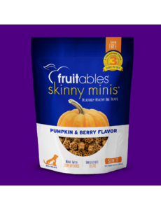 Fruitables Skinny Minis Chewy Pumpkin & Berry Treats, 5 oz bag