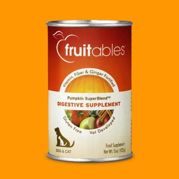 Fruitables Pumpkin Digestive Supplement, 15 oz can