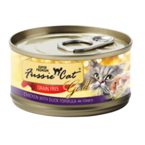 Fussie Cat Super Premium Grain-Free Chicken Canned Cat Food