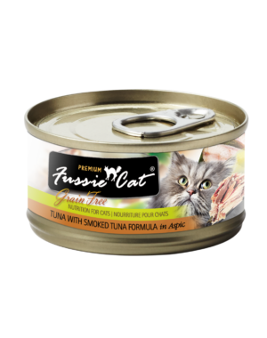 Fussie Cat Premium Grain-Free Tuna Canned Cat Food