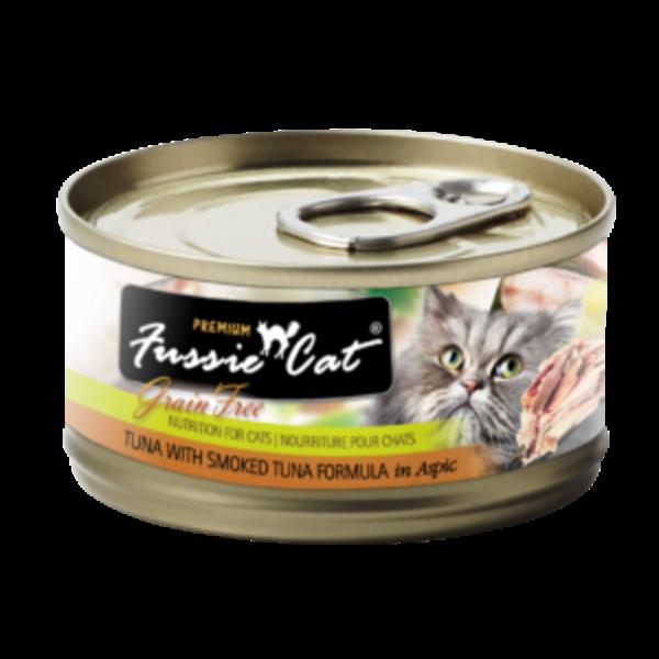 Fussie Cat Premium Grain-Free Tuna Canned Cat Food