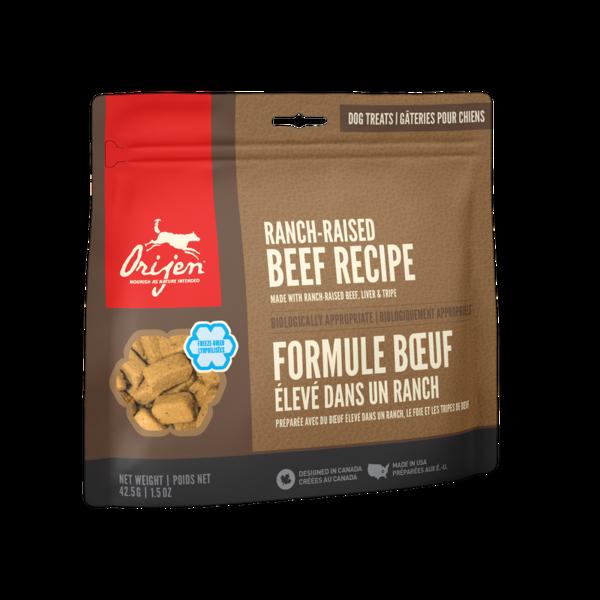 Orijen Ranch-Raised Beef Freeze-Dried Dog Treats 3.25 oz bag