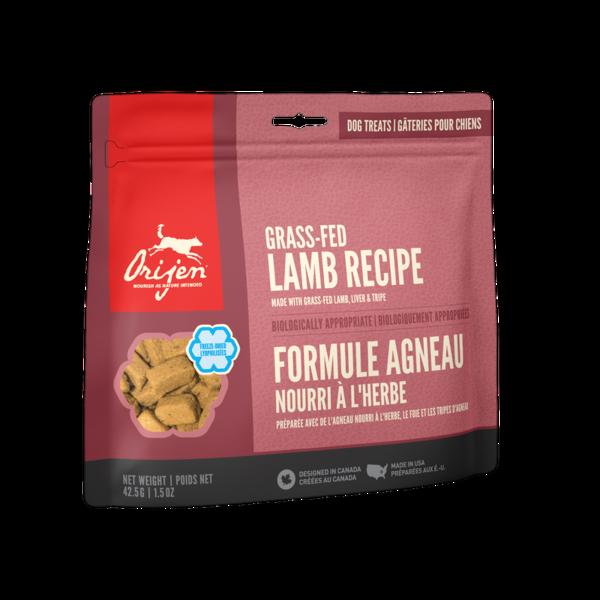 Orijen Gass-Fed Lamb Freeze-Dried Dog Treats 3.25 oz bag