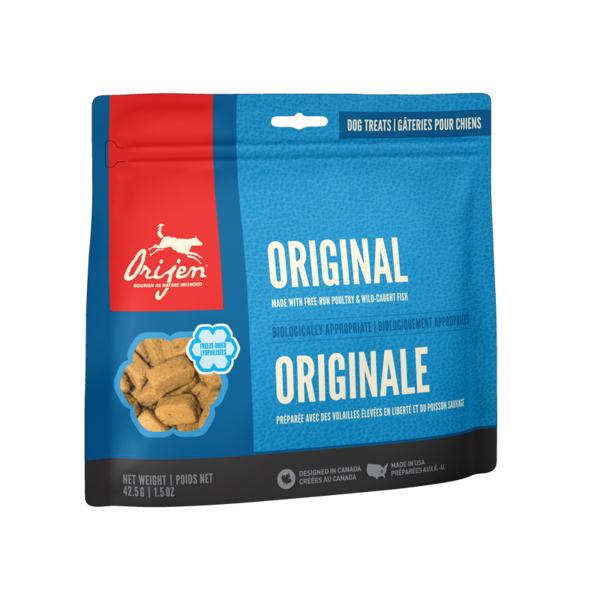 Orijen Original Freeze-Dried Dog Treats 3.25 oz bag
