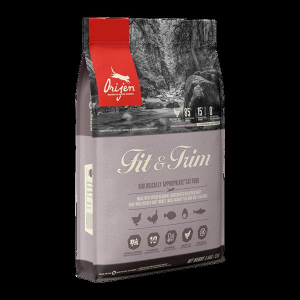 Orijen Fit & Trim Dry Cat Food, 4 lb bag