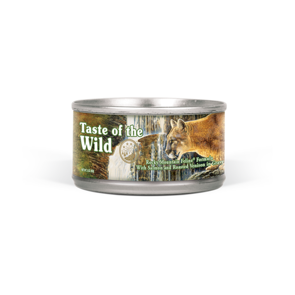 Taste of the Wild Rocky Mountain Canned Cat Food, 5.5 oz can