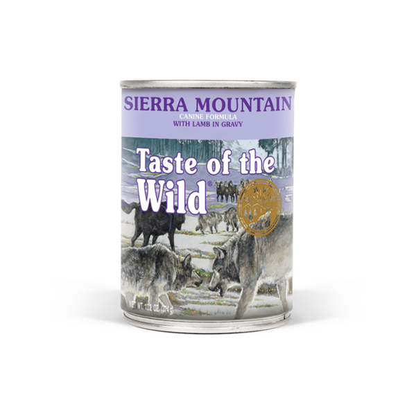 Taste of the Wild Sierra Moutain Canned Dog Food, 13.2 oz can
