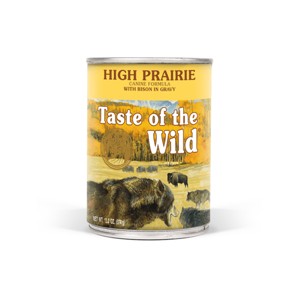Taste of the Wild High Prairie Canned Dog Food, 13.2 oz can