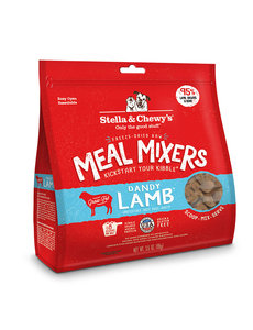 Stella & Chewy Meal Mixers Freeze-Dried Dog Food, Dandy Lamb, 18 oz bag
