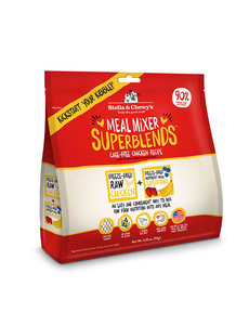 Stella & Chewy Meal Mixers Superblends Freeze-Dried Dog Food Topper, Chicken, 16 oz bag