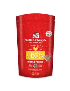 Stella & Chewy Frozen Raw Dog Food Patties, Chicken, 3 lb bag