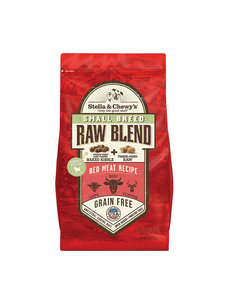 Stella & Chewy Raw Blend Dry Dog Food, Small Breed Red Meat
