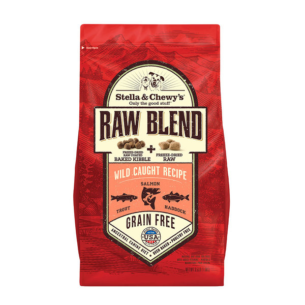 Stella & Chewy Raw Blend Dry Dog Food, Wild Caught