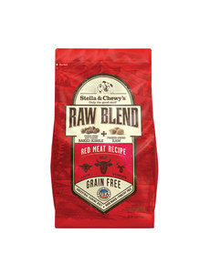 Stella & Chewy Raw Blend Dry Dog Food, Red Meat