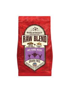 Stella & Chewy Raw Blend Dry Dog Food, Free Range Recipe