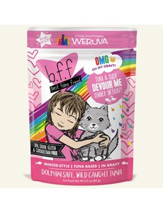 Weruva BFF Cat Food Pouches in Gravy
