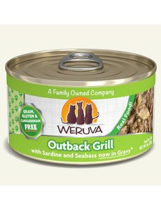 Weruva Classic Canned Cat Food, Outback Grill, 3 oz can