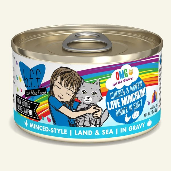 Weruva BFF OMG! Canned Cat Food, Love Munchkin