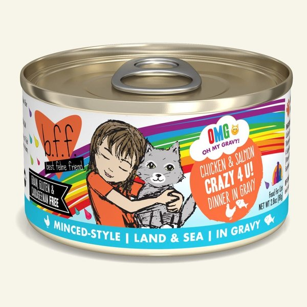 Weruva BFF OMG! Canned Cat Food, Crazy 4 U